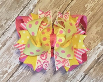 Pinklemonade Boutique Style HairBow