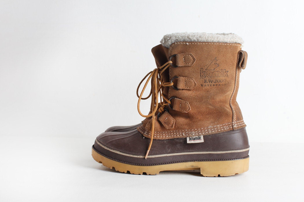 Vintage Duck Boots Womens S Size 9