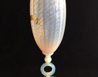 Original vintage Italian Opaline Vase (gg3)