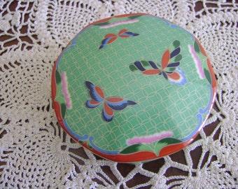 Cloisonne Ceramic Box 1981