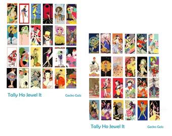 Tally Ho Jewel It Collage Set