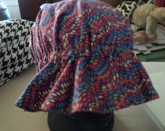 Multi-colored mob hat
