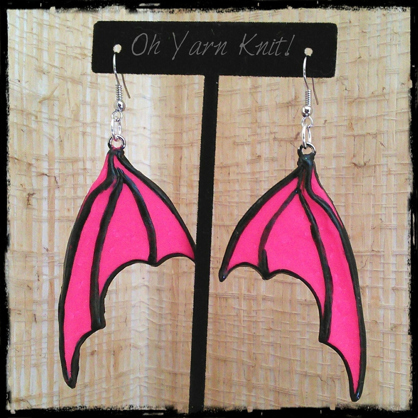 Dragon Wing Earrings Fairy Wings Bat Wings by OhYarnKnit ... - photo#42