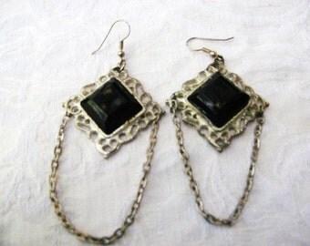 Gypsy Dangles Earrings / women / jewelry / teen jewelry / vintage / pierced / 1990's / women's jewelry