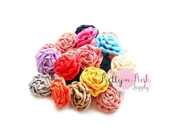 MINI Isabella Rosette Grab Bag- You Choose Quantity, We Choose Color- Rolled Rosettes- Rolled Rosettes- Rosettes- DIY Headbands