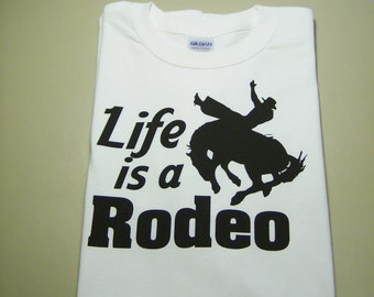 Rodeo original design heavy cotton t-shirt - original design apparel - rodeo tee - original designcowboy/horse/rodeo t-shirt - rodeo apparel