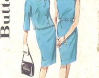 Vintage Misses' Sheath Dress and Jacket #2632 Size 12