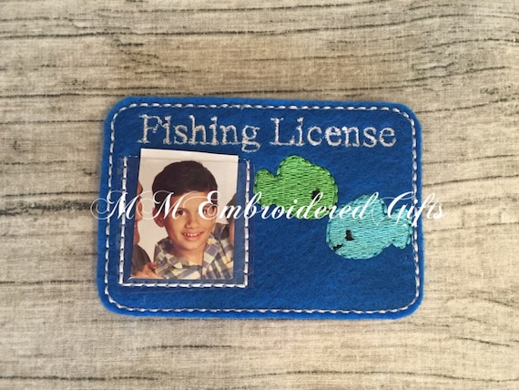 Fishing license pretend play for Where to get a fishing license