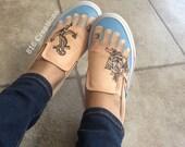 Tattoo Feet Vans