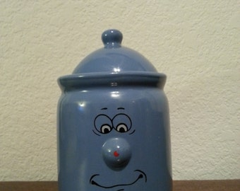 Classic Porcelain Brand Jar with Lid