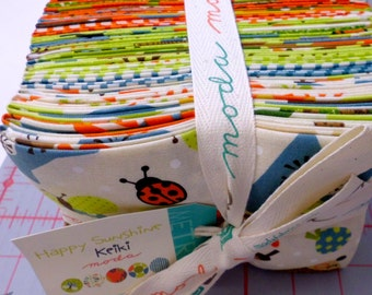 Happy Sunshine Fat Quarter Pack (21) by Keiki for Moda