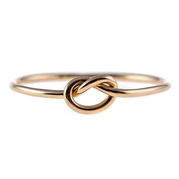 Knot Ring - 14K Yellow Gold-filled
