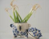 Handmade Ceramic jar, Unique Box