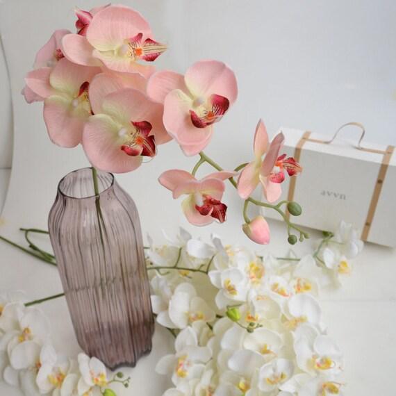 Pcs artificial orchids wedding light pink table centerpieces
