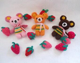 Cute bear crochet pattern