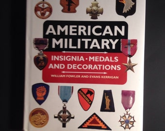 Rare book american military insignia medals and decorations 1995 hard to find book