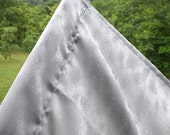 235 Stormy Silver Silk Essence Embossed Extra Large Worship Flag