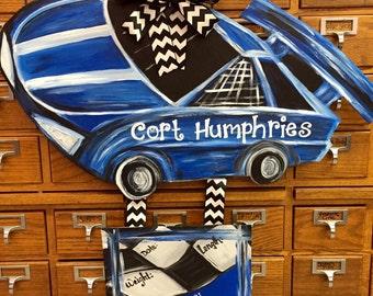 Race Car Hospital Door Decoration