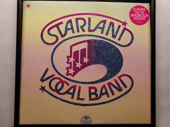Glittered Record Album - Starland Vocal Band - Afternoon Delight