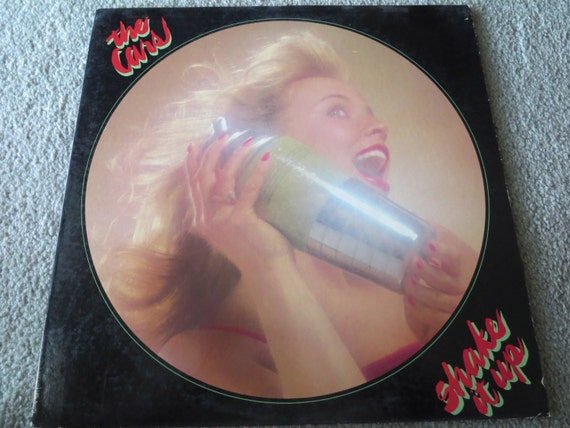 David Jones Personal Collection Record Album - The Cars - Shake It Up