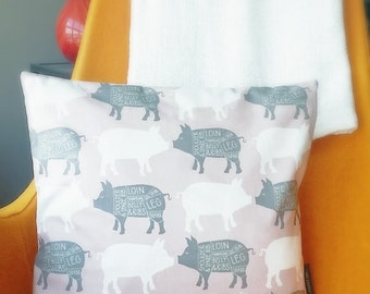 This Little Piggy Pillow Case