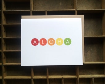 Aloha Dots - Set of 6