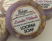 Lavender Patchouli Loofah Soap