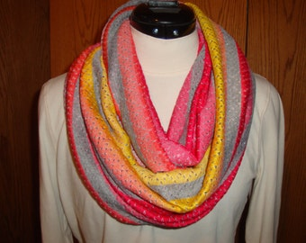 One of a Kind Infinity Nursing scarf