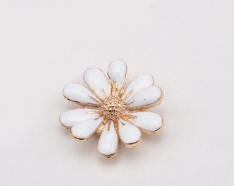 1 Piece Flower Alloy Rhinestones Bling Bling Cell Phone Case Decoaccessory Piece for your craft projects