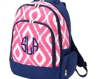 Monogram Ikat Backpack