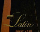 Latin First Year Amsco 1958 Charles Freundlich Review Text Paperback Book