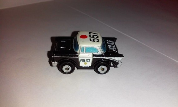 Vintage Micro Machines 1957 Chevy Bel Air Police By