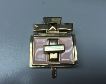 1 piece of beautiful supercute perfume turn lock handbag hardware, decorative lock, hardware for handbag and purses and accessories