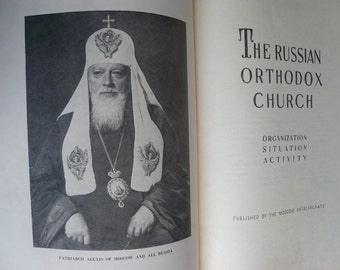 VINTAGE The Russian Orthodox Church ( organisation, situation, activity)