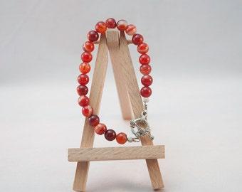 Gemstone Bracelet - Carnelian