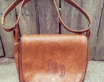 T.A.D. Vintage Leather Handbag
