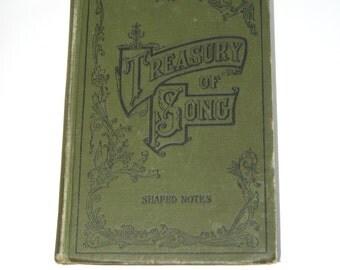 Vintage Book, Treasury of Song