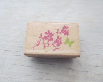 Used Rubber Stamp, Butterfly, Studio G