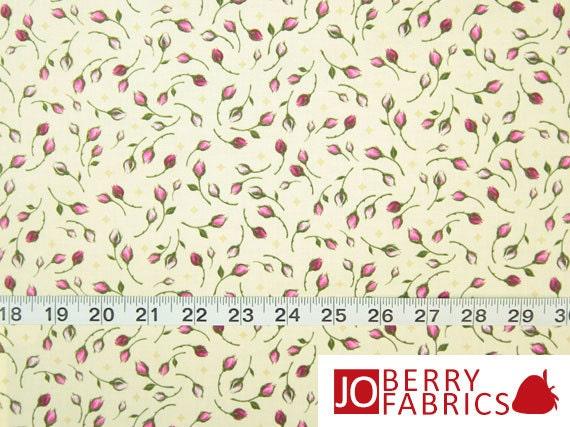 Rosebud Fabric Rosa By Kensington Studio For Quilting