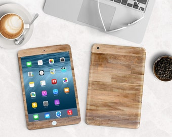 Untreated Wood Vinyl Skin for the iPad Air 2, iPad mini , Kindle All Models , Surface Pro and RT