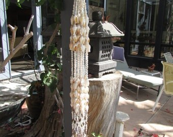 Strands of Sea Shells Long set of 20. Great for Mobiles