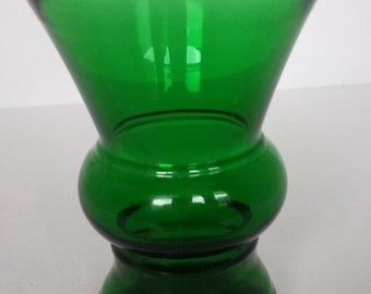 Forest Green Vase