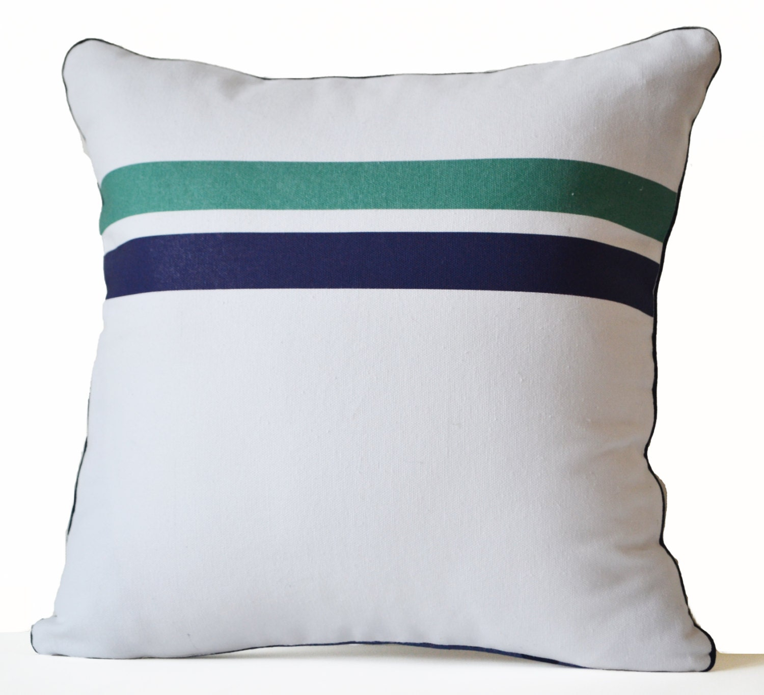 Throw Pillow Covers White : Decorative Pillow Cover White Cotton Pillow Geometric