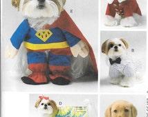 McCalls 6862 Dog Costume Pattern, Pet Clothes sewing Pattern, New uncut pet pattern