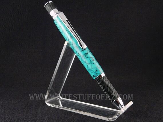 Retro Twist Pen, Turquoise Acrylic, Parker Refill