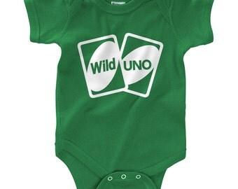 Wild One Uno Cards - Infant Bodysuit (NB - 24M)