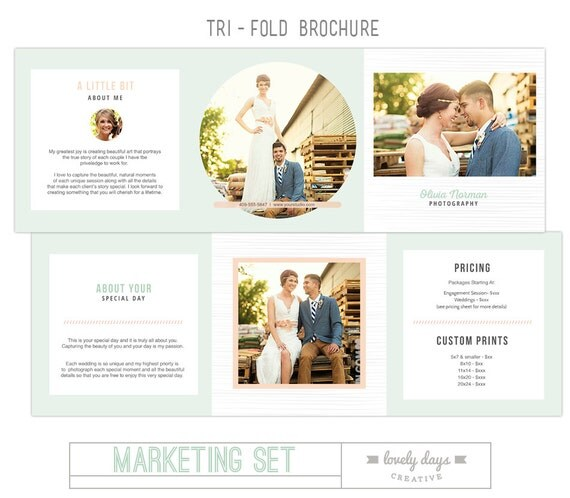 Photography marketing set templates for photographers from for Marketing templates for photographers