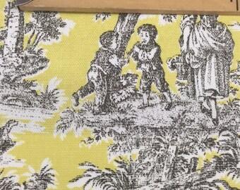 Home decor fabric A8757 Lemondrop