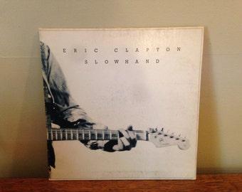 """Eric Clapton """"Slow Hand"""" vinyl record"""