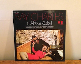 "Ray Charles ""I'm All Yours Baby!"" vinyl record"